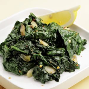 simple sauteed #spinach