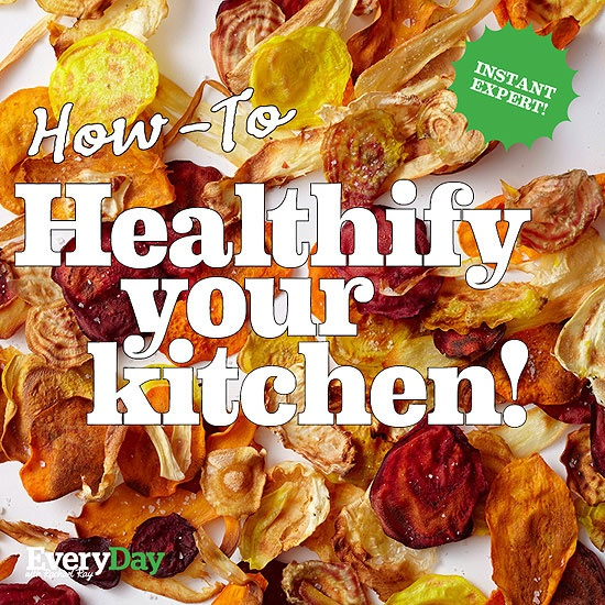 How-To Healthify Your Kitchen! Our super simple strategies and tips to make any meal better!