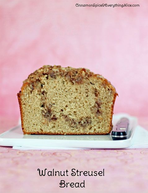 Streusel Bread with Walnuts