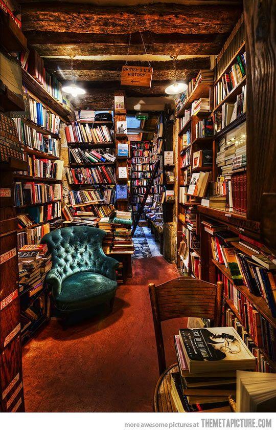Amazing Bookstore in Paris, France