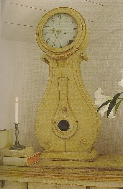 swedish table clock