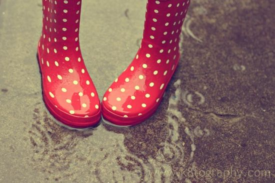 rainboots...perfect for today:)