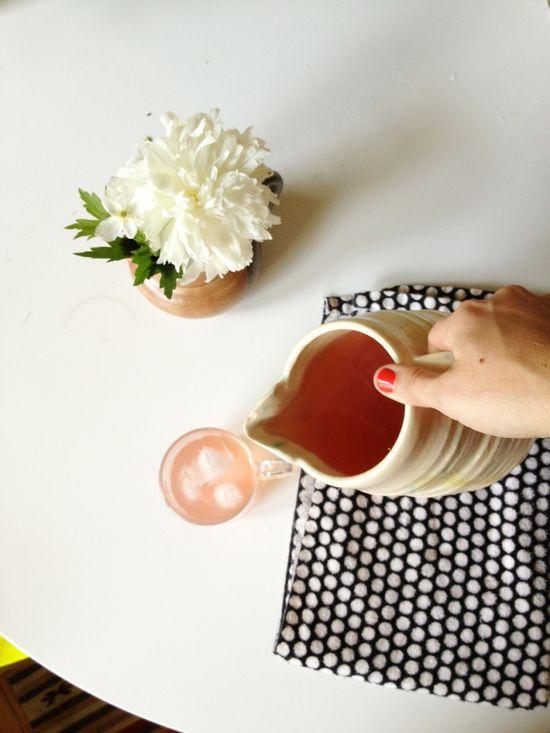 last summers rhubarb juice / dullDiamond