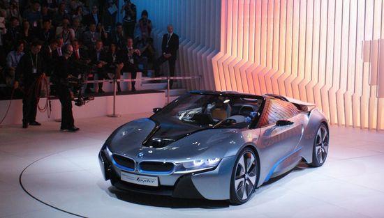BMW i8 Spyder Convertible