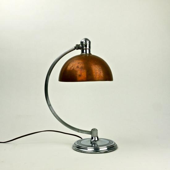 American Art Deco 1930s Desk Light