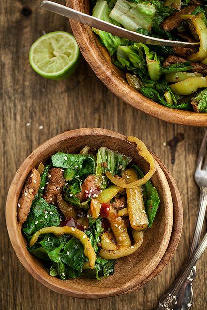 Stir-Fry Salad by mikeyarmish, via Flickr