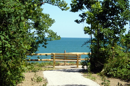Lake Erie Bluffs now open to the public (via @Lake Metroparks)