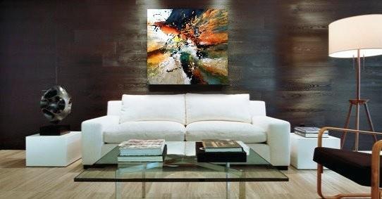The beautiful universe #3, painting by Dan Bunea, living abstract paintings, www.danbunea.ro