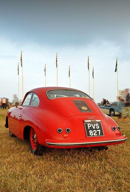Porsche 356A #Motorbike