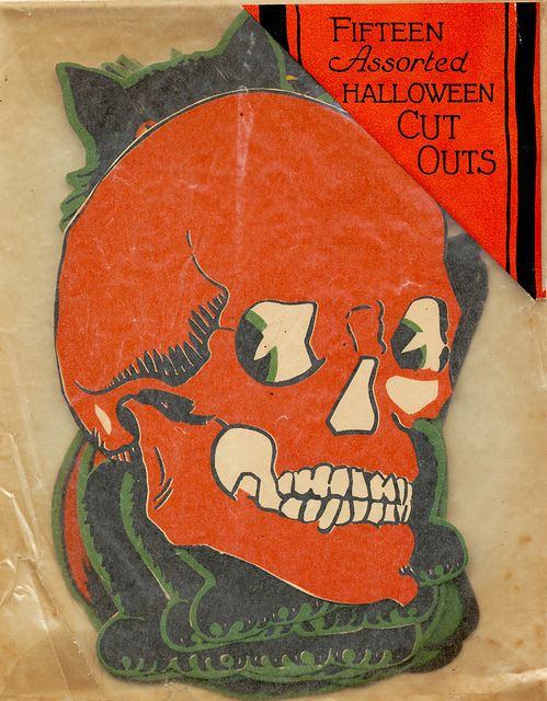 Vintage Halloween Cut Outs