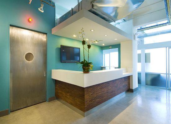 office reception area designs - Google Search