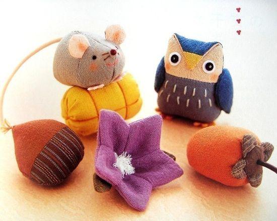 Cotton and Linen Stuffed Animals 01 - Japanese craft book. $28.00, via Etsy.
