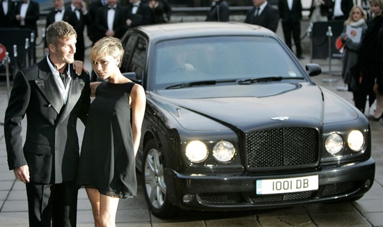 Becks To Sell Luxury Car Collection
