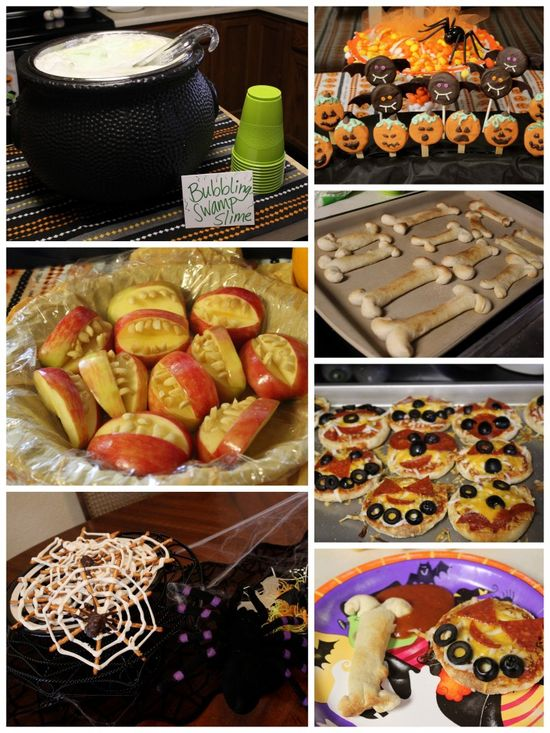 Halloween party eats--great for kids!
