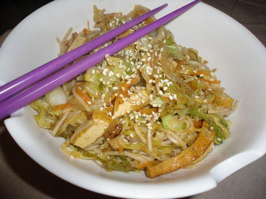 Vegans Eat Yummy Food Too!!!: Soba Noodle Stir-fry
