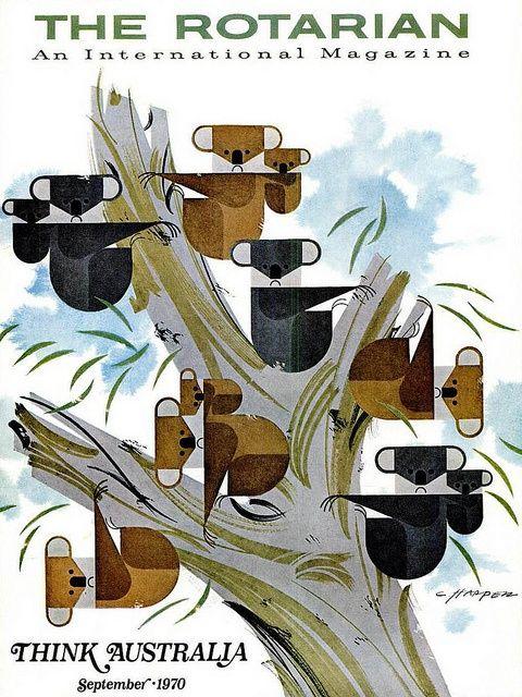 Mid-Century Modern Graphic Design Charley Harper