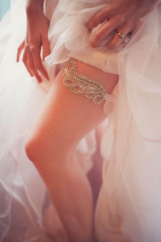Bridal Garter - Handmade Wedding Accessories