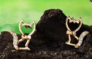 Image of Cute Cat Earrings