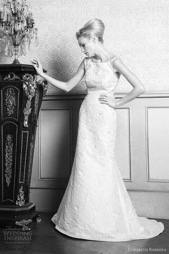 Elisabeth Barboza wedding dresses 2012