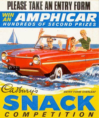 Old Amphicar contest.