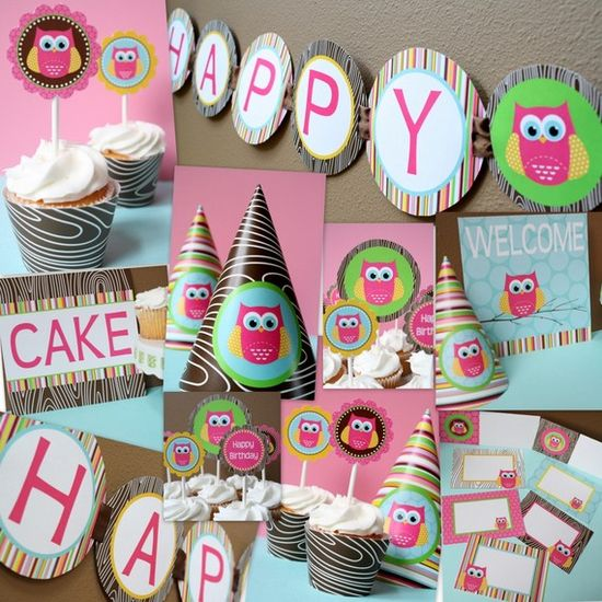owl birthday party