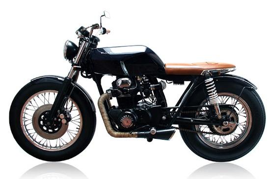 Honda CB350, based on a 1971 engine