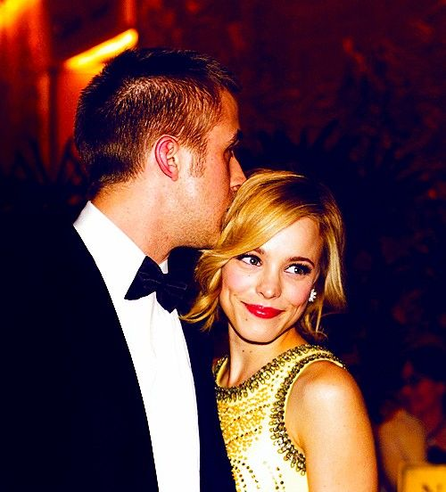 """Ryan Gosling & Rachel McAdams """"I mean, God bless The Notebook. It introduced me to one of the great loves of my life. But people do Rachel and me a disservice by assuming we were anything like the people in that movie. Rachel and my love story is a hell of a lot more romantic than that."""" -Ryan Gosling"""