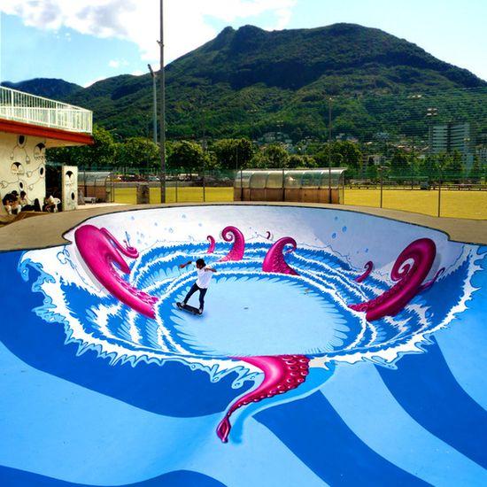 Best graffiti pool