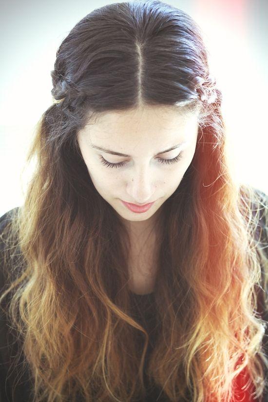 She Lets Her Hair Down: Tutorial :: Mini Crown Braid