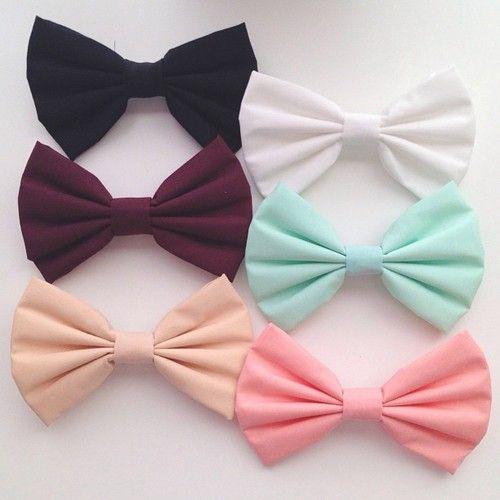 very cute hair bows