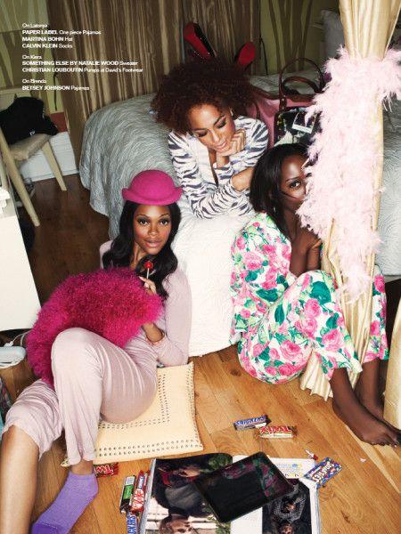 chloe Magazine, Matthew Lyn, Black Fashion Models