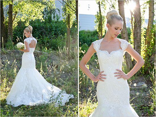 Pronovias wedding gown www.weddingchicks...