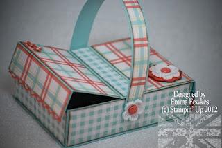 Picnic basket match box