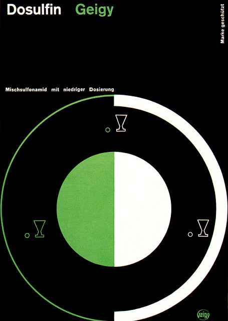 Elisabeth Dietschi for   Cover of J.R. Geigy booklet   From Graphis Annual 58/59.