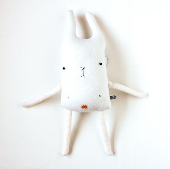 Handmade Plushy Rabbit Friend