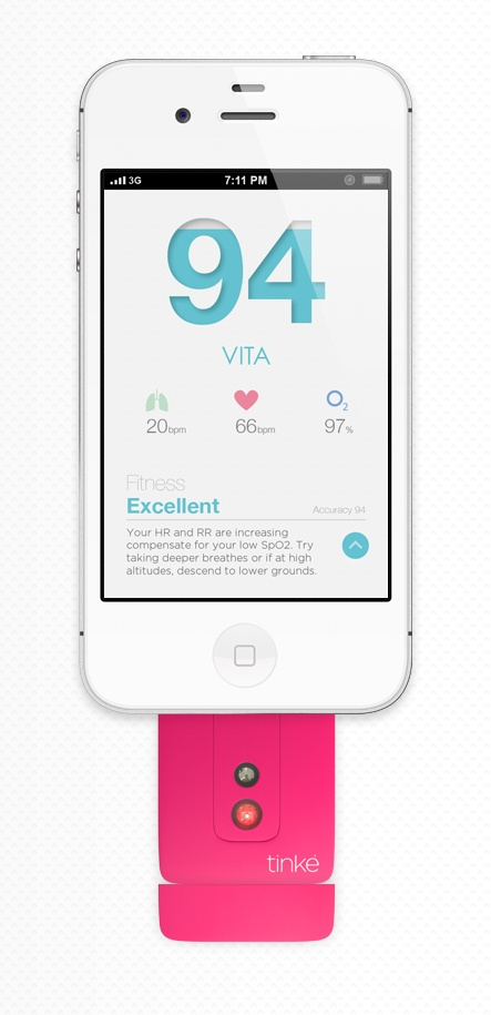 Tinke #app #fitness #interface