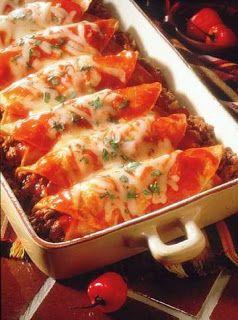 Beef Enchiladas - in less than an hour