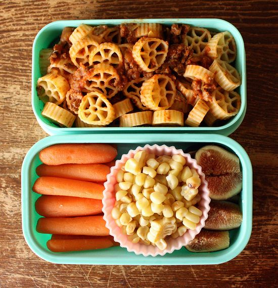 Great lunch box ideas!