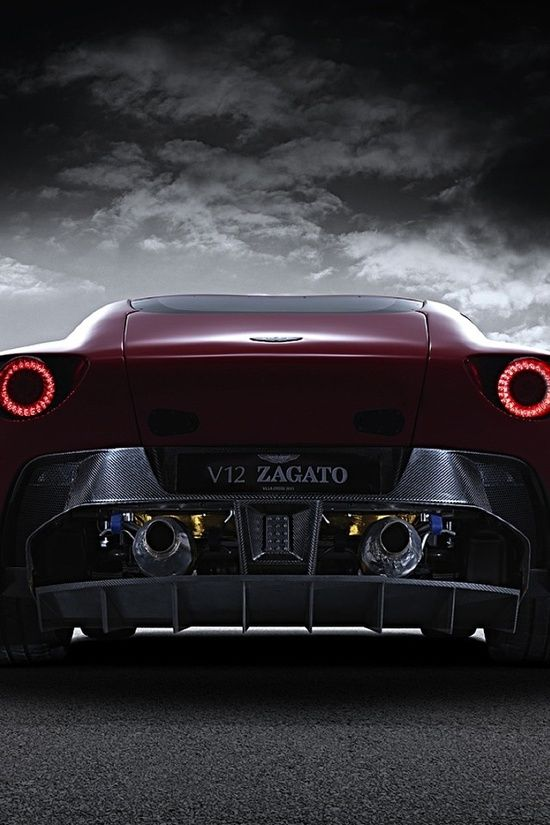Beautiful Photography: Aston Martin Zagato Win the 'ultimate supercar' experience by clicking on this cool image