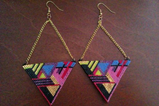 Contemporary Native American Beadwork. $60.00, via Etsy.