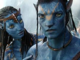 Blue people movie!