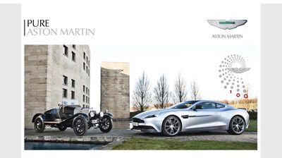 Aston Martin leverages 100-year history via revamped logo, global celebrations