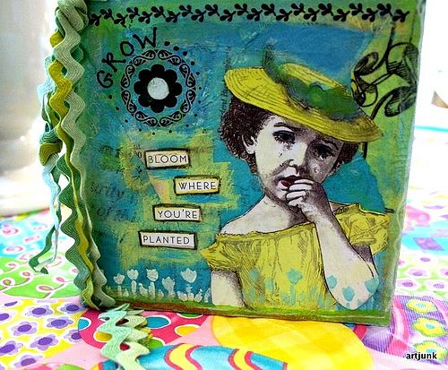 chunky book cover by artjunkgirl, via Flickr