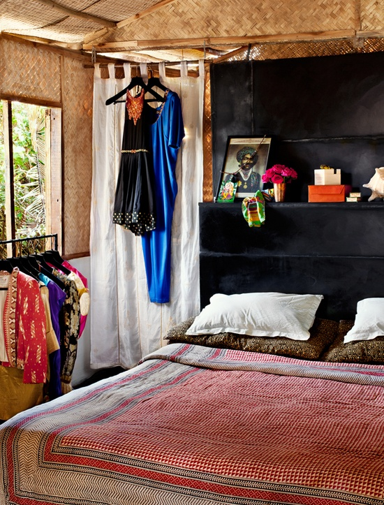 Indian bedroom decoration