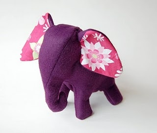 stuffed animal elephant pattern @Danielle Swyers, this SCREAMS your name!