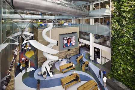 10 Incredible Office Spaces Around The World - Corus Quay in Toronto Office