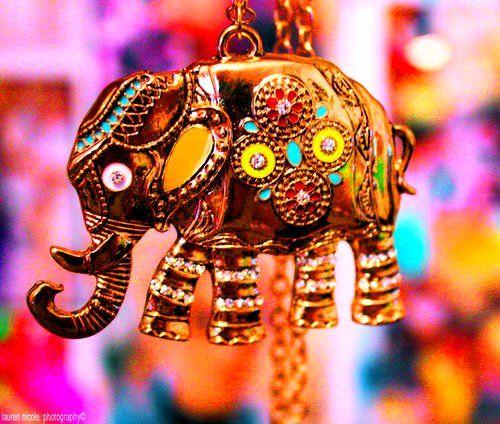 słoń indyjski - ozdoba