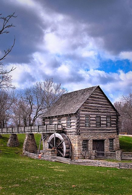Old Mills hold a special place in my heart~My Husband and I were married at Deep River State Park next to that Mill in NW Indiana~where I went as a child with my Mom. ?