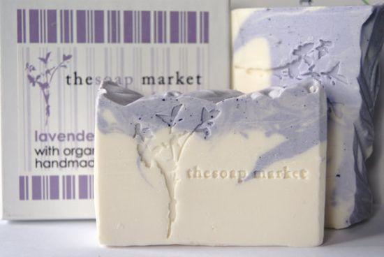 lavendar handmade soap.