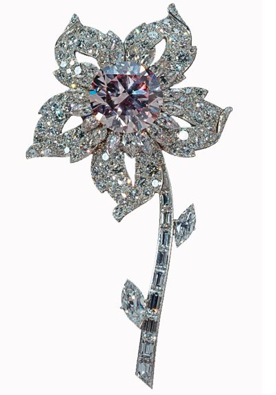Williamson Diamond Brooch